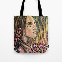 phoenix Tote Bags featuring phoenix by Beth Jorgensen