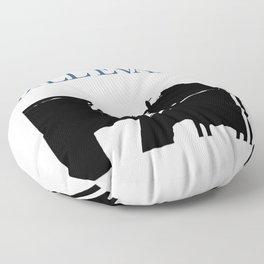 Bill Evans Floor Pillow