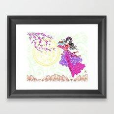 Mooncake Festival Framed Art Print