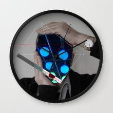 Me, Crazy Man · Lighten Up Wall Clock