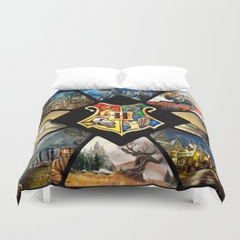 Magical Places Duvet Cover