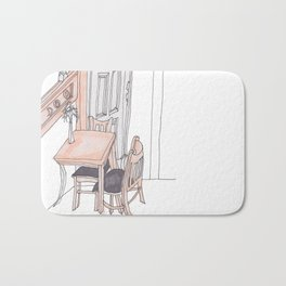 Common Grounds Coffee Shop Bath Mat
