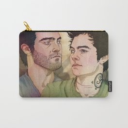 The wolf and his mate. Carry-All Pouch