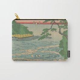 Sea. Ukiyoe Landscape Carry-All Pouch