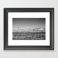 Utah Cafe Framed Art Print
