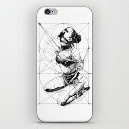 Restrained In Geometry. ©Yury Fadeev iPhone Skin