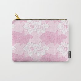 Pink Hellebores Carry-All Pouch