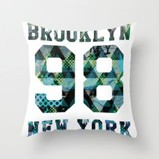 Brooklyn NYC Throw Pillow