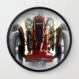1926 Amilcar CGSs French Racing Car Wall Clock