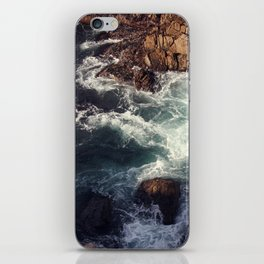 swirling current iPhone Skin