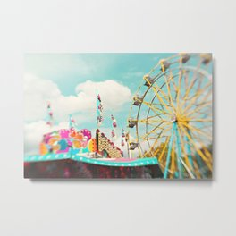 summer carnival fun Metal Print