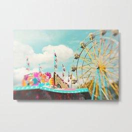 summer carnival fun Metal Print