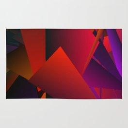 Smoke Screen Abstract 5 Rug