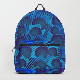 2006 Blue multification ... Backpack