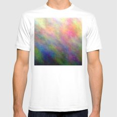 4-D Mens Fitted Tee White SMALL