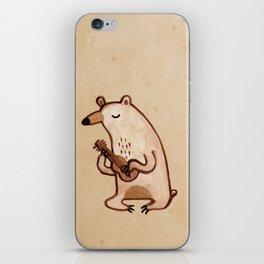 Ukulele Bear iPhone Skin