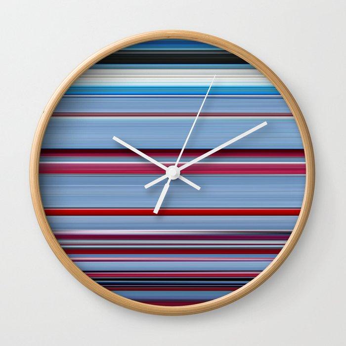 Falling Down - Swipe Wall Clock