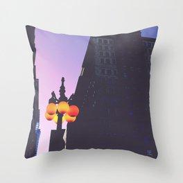 Magenta Prints #1 Throw Pillow