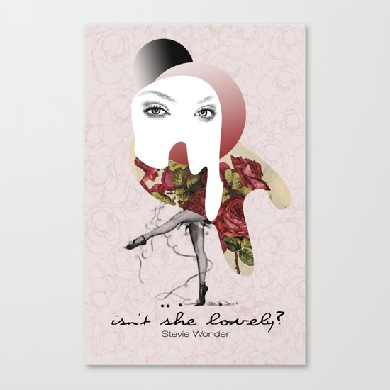 Isn't She Lovely Canvas Print