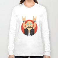 rock and roll Long Sleeve T-shirts featuring Rock&Roll by Gerardo Lisanti