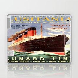 Vintage poster - Lusitania Laptop & iPad Skin