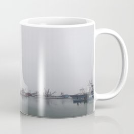 Moored in the Mist Coffee Mug