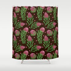 The Sweet Protea  Shower Curtain