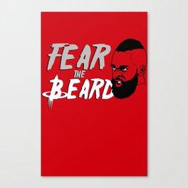"The Victrs ""Fear the Beard"" Canvas Print"
