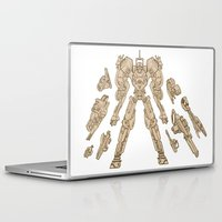 guns Laptop & iPad Skins featuring Big Guns!! by Matt Pattinson
