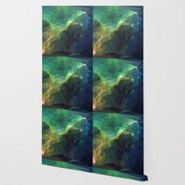 Galaxy low poly 3 Wallpaper