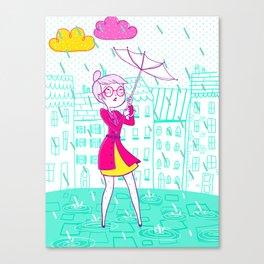 Parapluie Canvas Print