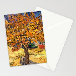 The Mulberry Tree by Vincent van Gogh Stationery Cards