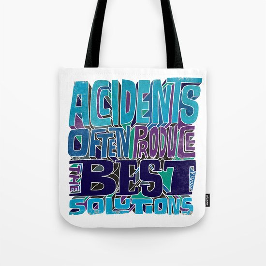 Accidents Tote Bag