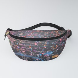 Attack in Space Fanny Pack