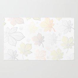 Autumn Leaves Pattern XV Rug