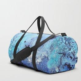 Bermuda Paradise Mixed Media Painting Duffle Bag
