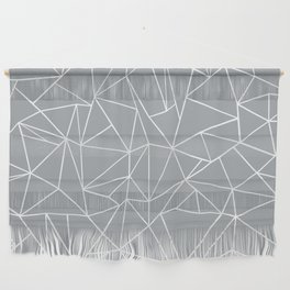 Abstraction Outline Grey Wall Hanging