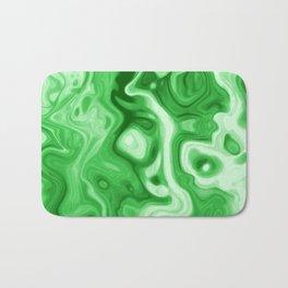 malachite natural rock abstract Bath Mat