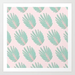Twice-Pinnate Leaf Pattern Art Print