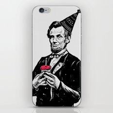 Happy Birthday Mr.President iPhone & iPod Skin