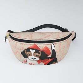 The Love Puppy — Love Letter Fanny Pack
