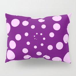purple fat spiral Pillow Sham
