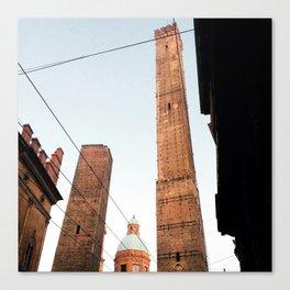 Due Torri Bologna Canvas Print