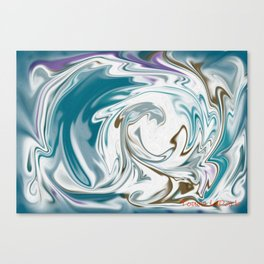 The Vortex Canvas Print