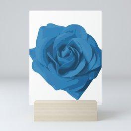 """Blue Rose """"Queen of the Garden"""" Mini Art Print"""