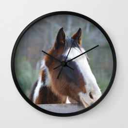 Talon at attention  Wall Clock