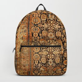 Antique Persian Malayer Rug Print Backpack