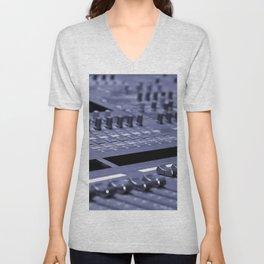 Mixing Console Unisex V-Neck