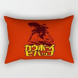 001b Cowboy bebop Red Rectangular Pillow