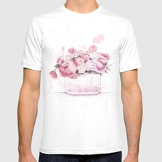 The tender touch Mens Fitted Tee White MEDIUM
